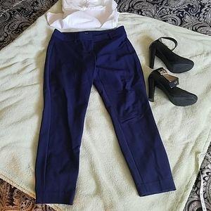 Express Navy Blue Dress Pant  size 4S